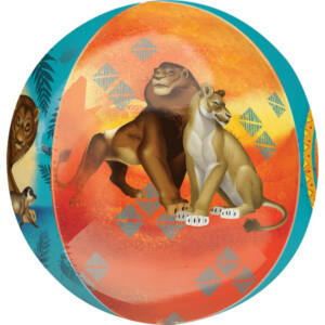 Disney Az Oroszlánkirály gömb fólia lufi 40 cm