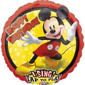 Disney Mickey Zenélő Fólia lufi