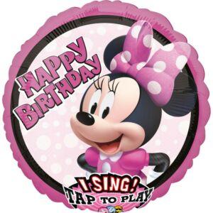 Disney Minnie Zenélő Fólia lufi