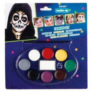 10 db-os családi arcfestő készlet