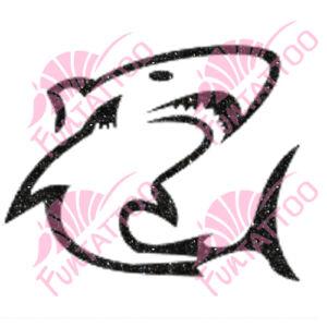 Cápa 1 csillámfestő sablon