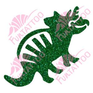Dino 1 csillámfestő sablon