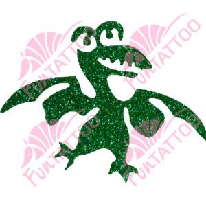 Dino 2 csillámfestő sablon