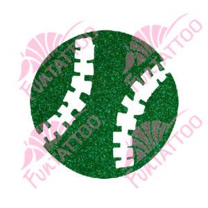 Golflabda csillámfestő sablon