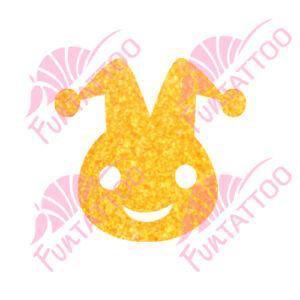 Jollyjoker csillámfestő sablon