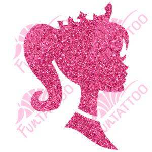 Királylány 1 csillámfestő sablon