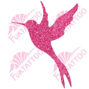 Kolibri csillámfestő sablon