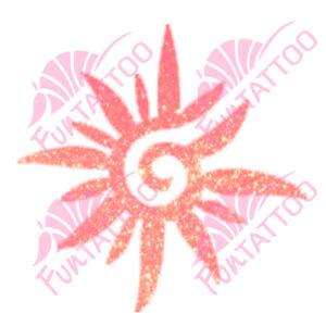 Nap 1 csillámfestő sablon