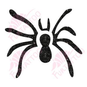Pók 2  csillámfestő sablon