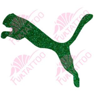 Puma csillámfestő sablon