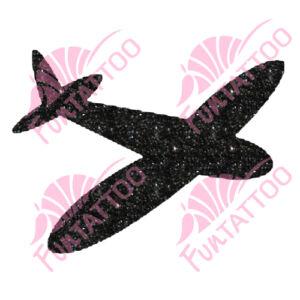 Repcsi csillámfestő sablon