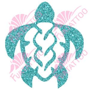 Teknős csillámfestő sablon