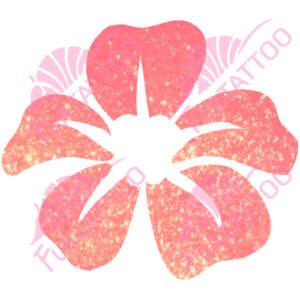 Virág 4 csillámfestő sablon