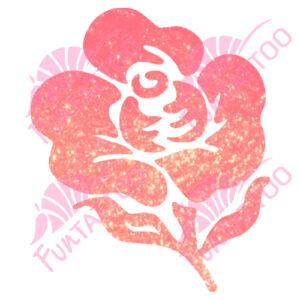 Virág 5 csillámfestő sablon