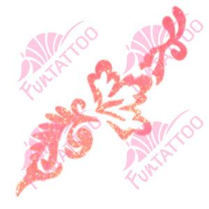 Virág 7 csillámfestő sablon
