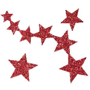 Csillagok 2 csillámfestő sablon