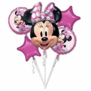Disney Minnie Fólia lufi 5 db-os szett