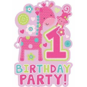 Első születésnap Party Meghívó
