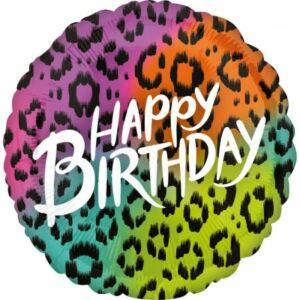 Happy Birthday Wild Fólia lufi