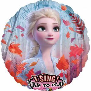 Disney Jégvarázs Zenélő Fólia lufi