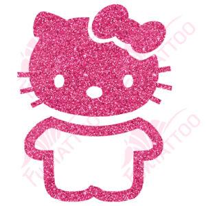 Hello Kitty 3 csillámfestő sablon