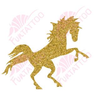 Ló 1 csillámfestő sablon