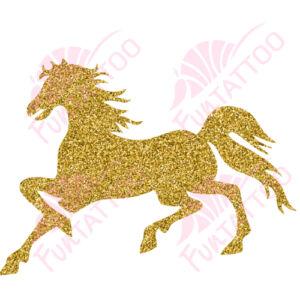 Ló 2 csillámfestő sablon