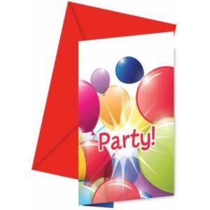 Flying Balloons, Lufis Party Meghívó