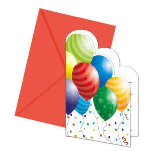 Balloons Celebration, Lufis Party Meghívó