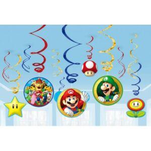Super Mario Szalag dekoráció