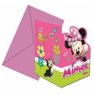 Disney Minnie Happy Helpers Party Meghívó