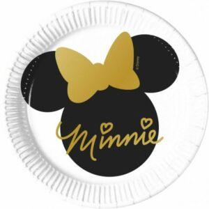 Disney Minnie Gold Papírtányér