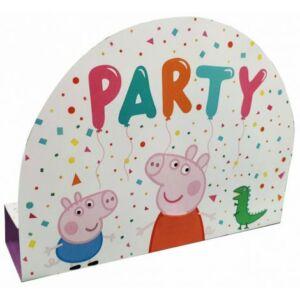 Peppa malac Party Meghívó
