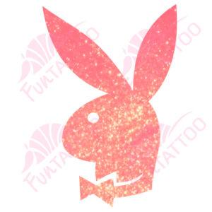 Playboy nyuszi csillámfestő sablon