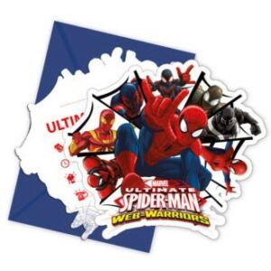 Ultimate Spiderman Web Warriors, Pókember Party Meghívó