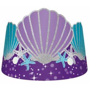 Mermaid, Sellő Parti kalap, korona