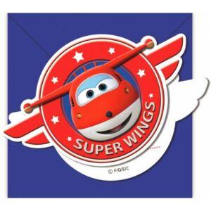 Super Wings Party Meghívó