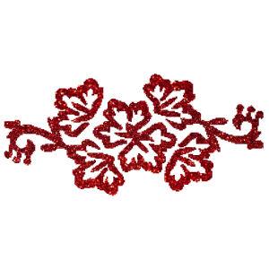 Virágfűzér csillámfestő sablon