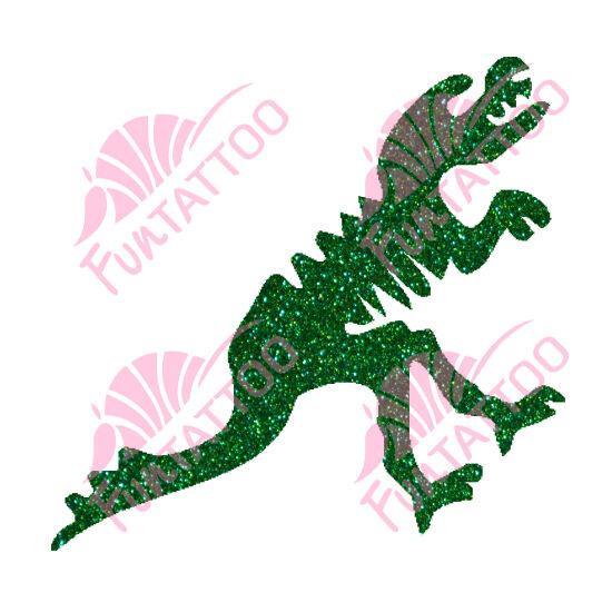 Dino 3 csillámfestő sablon