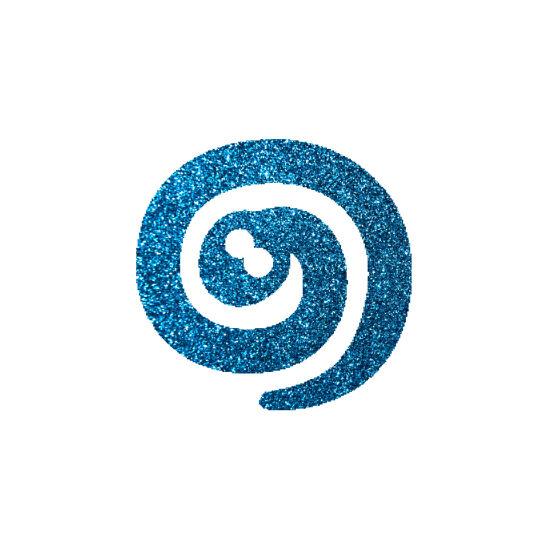 Kígyó csillámfestő sablon