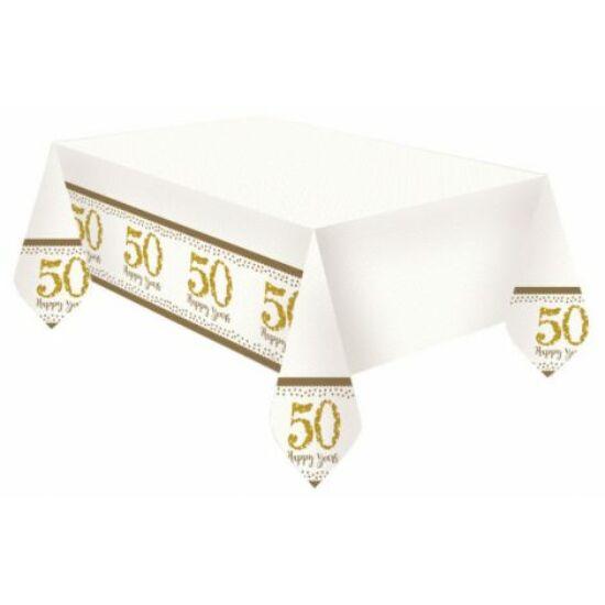50. Anniversary, Házassági évforduló Asztalterítő