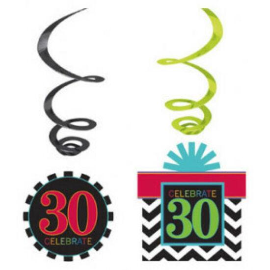 Happy Birthday 30 Szalag dekoráció