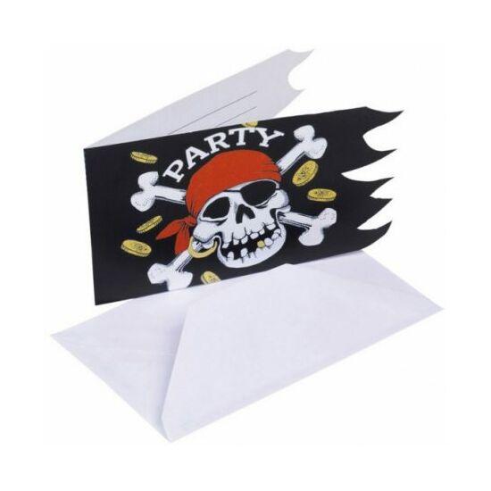 Pirate, Kalóz Party Meghívó