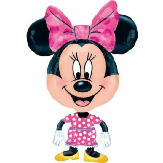 Disney Minnie sétáló fólia lufi 78 cm