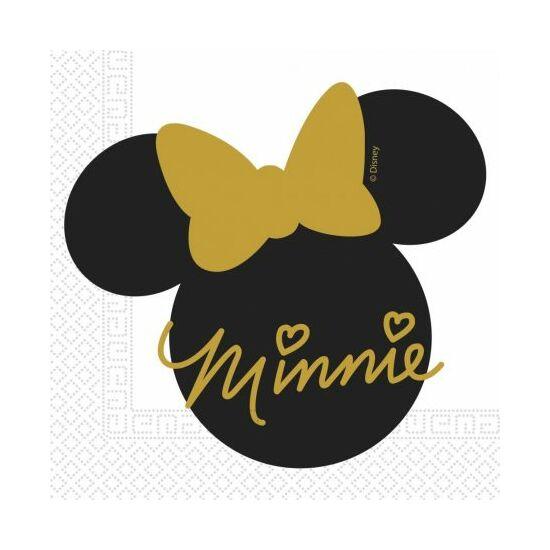 Disney Minnie Gold szalvéta