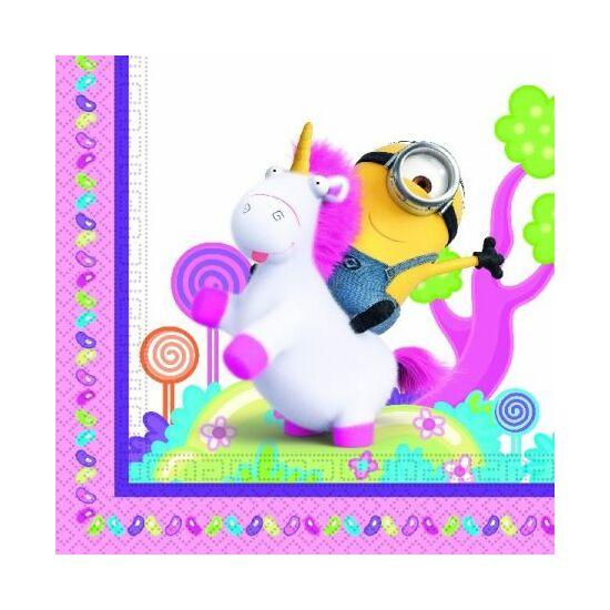 Minyonok, Agnes and Fluffy Unicorn szalvéta