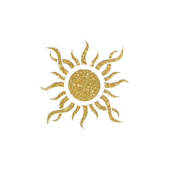 Nap 2 csillámfestő sablon