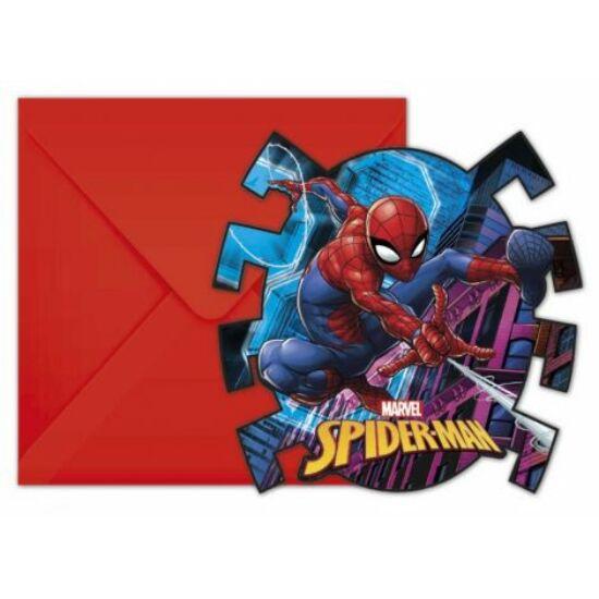 Spiderman Team Up, Pókember Party Meghívó