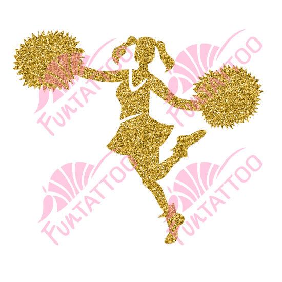 Pompomlány csillámfestő sablon