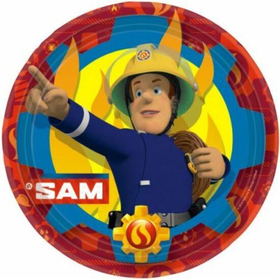Sam a tűzoltó Papírtányér